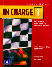 کتاب زبان In Charge 1 Student Book & Work book With CD