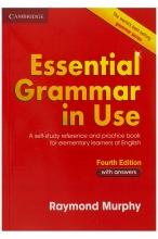 کتاب اسنشیال گرامر این یوز ویرایش چهارم Essential Grammar in Use Fourth Edition
