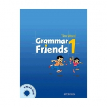 کتاب زبان Grammar Friends 1 Students Book with CD-ROM
