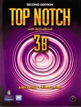 کتاب آموزشی تاپ ناچ ویرایش دوم Top Notch 3B+CD 2nd edition