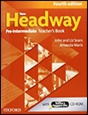 New Headway Pre-Intermediate:Teaches Book+CD 4th editio