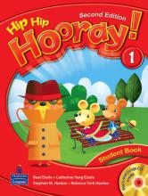 کتاب هیپ هیپ هورای ویرایش دوم Hip Hip Hooray 1 Student Book & Workbook 2nd Edition with CD