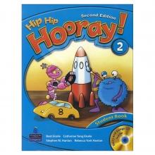کتاب هیپ هیپ هورای ویرایش دوم  Hip Hip Hooray 2 Student Book & Workbook 2nd Edition with CD