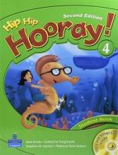 کتاب هیپ هیپ هورای ویرایش دوم Hip Hip Hooray 4 Student Book & Workbook 2nd Edition with CD
