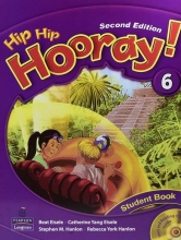 کتاب هیپ هیپ هورای ویرایش دوم Hip Hip Hooray 6 Student Book & Workbook 2nd Edition with CD