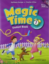کتاب مجیک تایم ویرایش دوم Magic Time 1 Student Book & Workbook 2nd Edition with CD