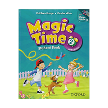کتاب مجیک تایم ویرایش دوم Magic Time 2 Student Book & Workbook 2nd Edition with CD