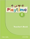 کتاب زبان PlayTime B teachers book