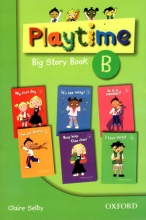 کتاب زبان (playtime big story book(B