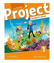 کتاب زبان Project 1 fourth edition s.b+w.b+dvd+cd