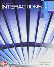 کتاب زبان Interactions Access Reading 6th Edition