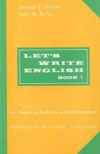 کتاب زبان Lets Write English 1