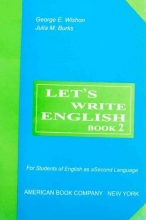 کتاب زبان Lets Write English 2