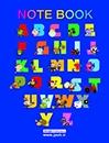 دفتر دو خط زبان 50 برگ جلد شوميز فنري
