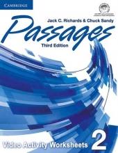 کتاب زبان Passages Level 2 video activities 3rd edition