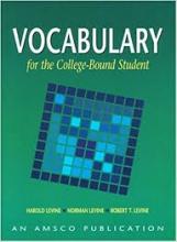 کتاب زبان Vocabulary For the College-Bound Student