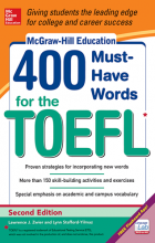 کتاب زبان 400Must-Have Words for The TOEFL 2nd-McGraw Hill