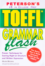کتاب زبان TOEFL Grammar Flash