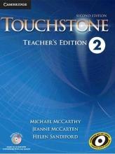 کتاب معلم تاچ استون Touchstone 2 Teachers book+cd 2nd edition