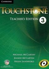 کتاب معلم تاچ استون Touchstone 3 Teachers book+cd 2nd edition