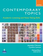 کتاب زبان Contemporary topic intro with cd