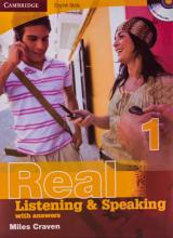 کتاب زبان Cambridge English Skills Real Listening and Speaking 1