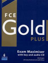 کتاب زبان FCE Gold Plus Exam Maximiser + coursebook with CD