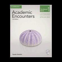 کتاب زبان Academic Encounters Level 1 Listening and Speaking+CD+DVD