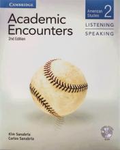کتاب زبان آکادمیک انکونترز  Academic Encounters Level 2 Listening and Speaking+CD+DVD