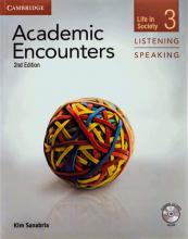 کتاب زبان آکادمیک انکونترز  Academic Encounters Level 3 Listening and Speaking+CD+DVD