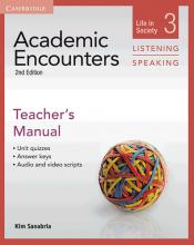کتاب زبان آکادمیک انکونترز  Academic Encounters Level 3 Teachers Manual Listening and Speaking