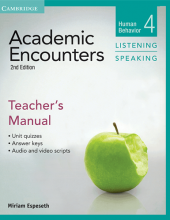 کتاب زبان Academic Encounters Level 4 Teachers Manual Listening and Speaking