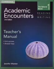 کتاب زبان Academic Encounters Level 1 Teachers Manual Reading and Writing