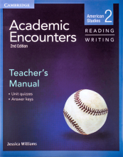 کتاب زبان Academic Encounters Level 2 Teachers Manual Reading and Writing