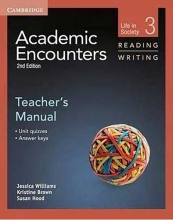 کتاب زبان Academic Encounters Level 3 Teachers Manual Reading and Writing