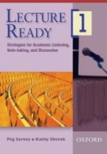 کتاب زبان Lecture Ready1 Strategies for Academic Listening, Note-taking, and Discussion