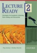 کتاب زبان لکچر ردی  Lecture Ready2 Strategies for Academic Listening, Note-taking, and Discussion