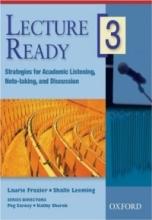 کتاب زبان لکچر ردی  Lecture Ready3 Strategies for Academic Listening, Note-taking, and Discussion