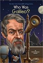 کتاب زبان Who Was Galileo?