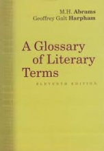 کتاب زبان A Glossary of Literary Terms 11th edition
