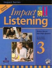 کتاب زبان Impact Listening 3 Student Book with CD