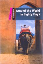 کتاب زبان New Dominoes starter: Around the World in Eighty Days+cd