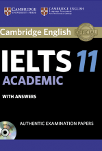 کتاب آیلتس کمبریج IELTS Cambridge 11 Academic with CD