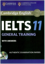 کتاب آیلتس کمبریج IELTS Cambridge 11 General with CD
