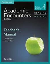 کتاب زبان Academic Encounters Level 4 Teachers Manual Reading and Writing
