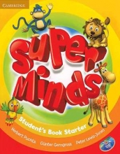 کتاب زبان Super Minds Starter (S.B+W.B)+DVD