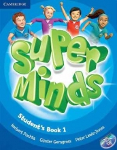 کتاب سوپر مایندز Super Minds Level 1 (S.B+W.B)+DVD
