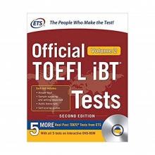 کتاب زبان Official TOEFL iBT Tests Volume 2, 2nd Edition with DVD