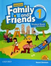 کتاب امریکن فمیلی اند فرندز ویرایش دوم American Family and Friends 1 (2nd) SB+WB+CD