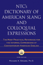 کتاب NTC's dictionary of American slang and colloquial expressions